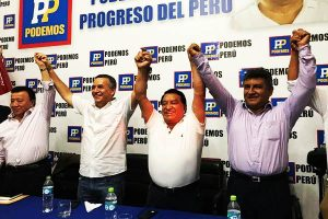 Daniel Urresti anuncia postulación a la alcadía de Lima