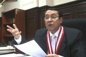 Víctor Prado Saldarriaga anhela que el Congreso resuelva las denuncias constitucionales