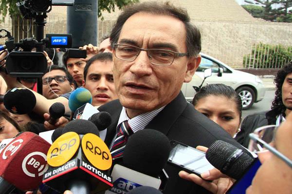 """Martín Vizcarra sobre el PJ: """"Deben tener mucho cuidado y profesionalismo"""""""