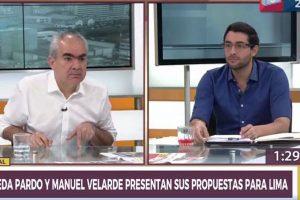 "Manuel Velarde a Luis Castañeda Pardo: ""Voy a investigar a tu papá"" [VÍDEO]"