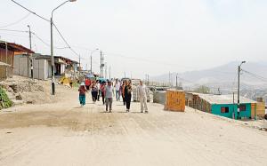 Implementarán programa en reducción de pobreza urbana en Ventanilla