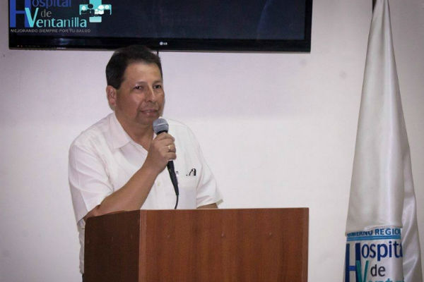 Director del Hospital de Ventanilla se defiende de acusaciones