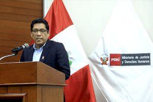 Vicente Zeballos espera que Congreso  impulse proyectos de reforma