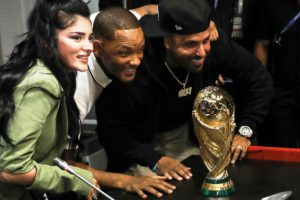 Will Smith se rinde ante Cristiano Ronaldo