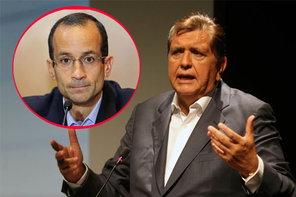 Alan García: «Marcelo Odebrecht no menciona ningún hecho concreto»
