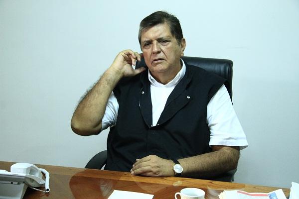 Militante aprista que denunció a García dará su versión mañana