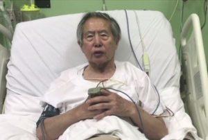 Alberto Fujimori fue trasladado a la clínica tras presentar cuadro de taquicardia