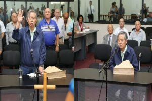 Alberto Fujimori declara como testigo por caso del secuestro a Gustavo Gorriti