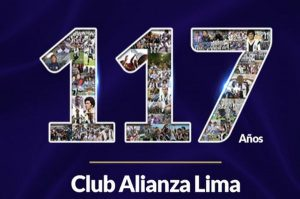Alianza Lima celebra 117 años desde su fundación en 1901