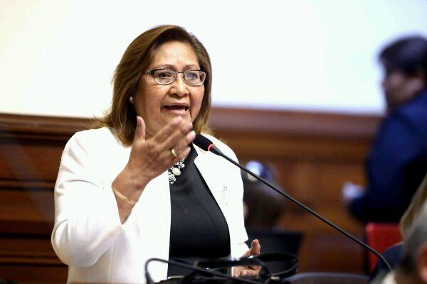 """Ana María Choquehuanca: """"Siento mucha impotencia porque no tengo herramientas legales"""""""