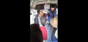 Puno: Anciano fue golpeado brutalmente por cobrador de combi [VIDEO]