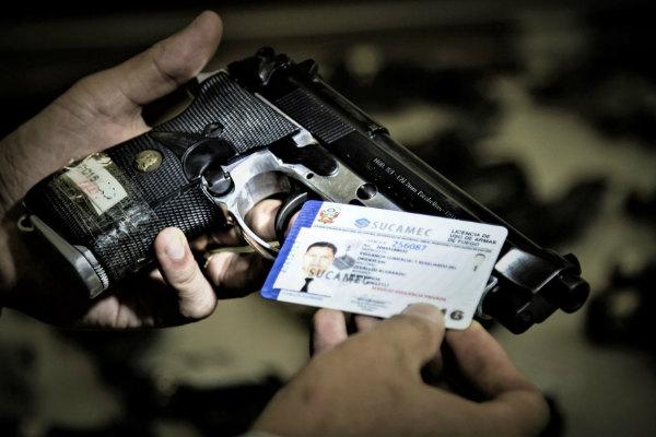 Sucamec: Hoy vence el plazo para regularizar armas con licencias vencidas
