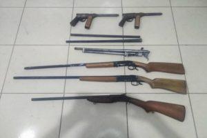 San Martín: Policía incauta arsenal de réplicas de armas de fuego [FOTOS]