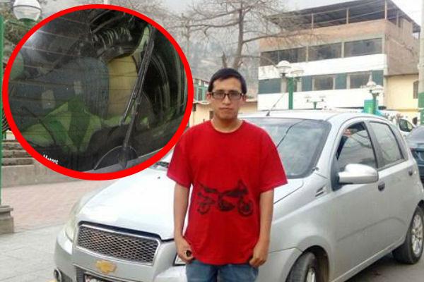 Capturan a presunto asesino de joven hallada en maletera de un auto