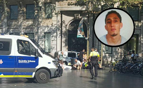Atentado en Barcelona: Identifican a uno de los sospechosos