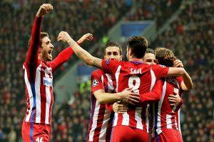 Atlético de Madrid gana en la Liga de Campeones
