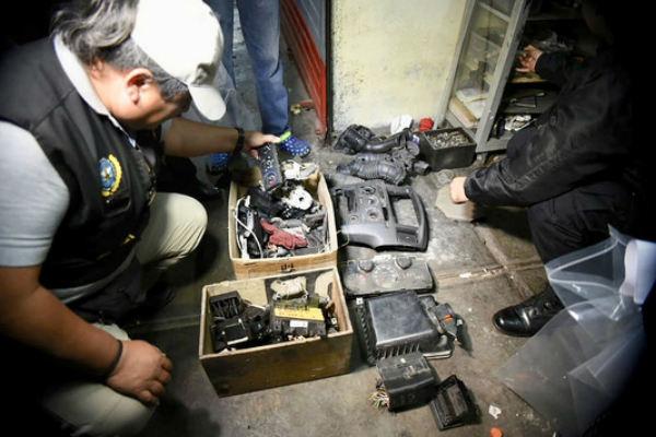 Callao: PNP desarticula banda criminal dedicada al robo de autopartes [FOTOS]