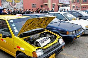 Recuperan más de 1,200 vehículos robados en Lima