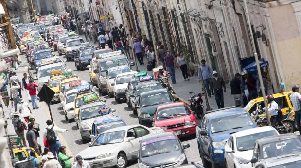 Parque automotor de Trujillo interesa a empresarios mexicanos