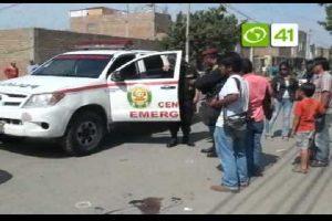 Trujillo: Tres muertos y un herido tras balacera en el centro de la ciudad