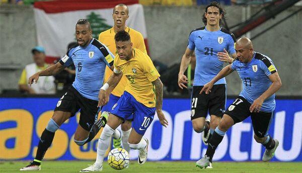 Brasil mide fuerzas contra Uruguay: «Con sabor a clásico»