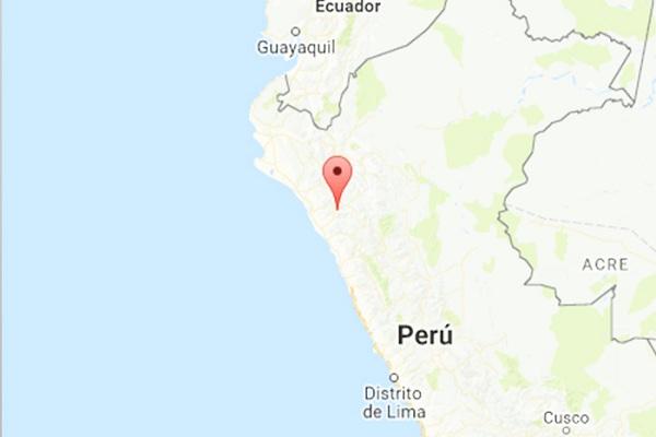Sismo de 3,8 grados remeció Cajamarca