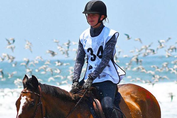 Amazona Svenja Eichler lista para competir en Clasificatorias a Dubái