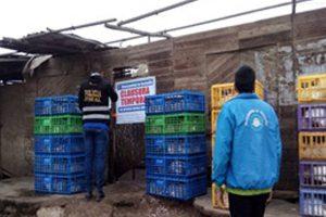 Clausuran centro de acopio  de aves en distrito de Ventanilla