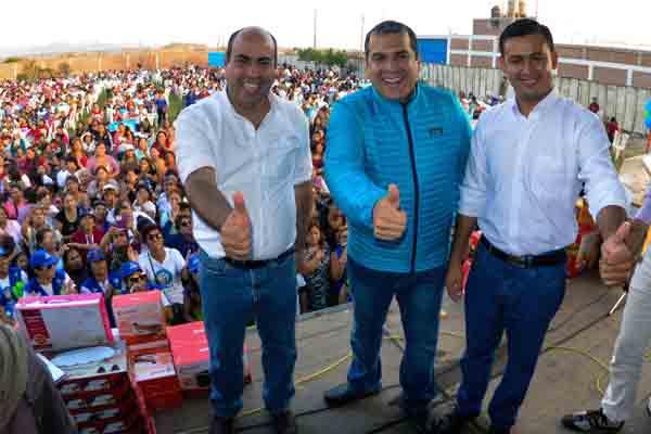 Movimiento Fuerza Chalaca oficializa candidatos a Ventanilla y Mi Perú