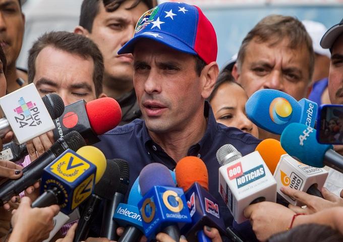 Venezuela: Hernique Capriles reaparece como opción para guiar a la oposición