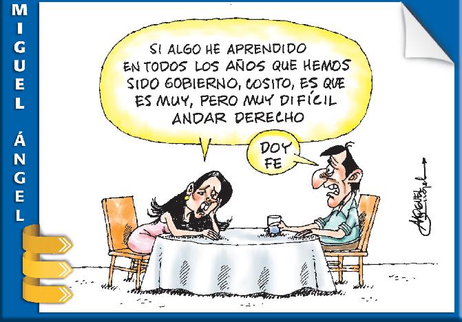 La caricatura de Miguel Ángel