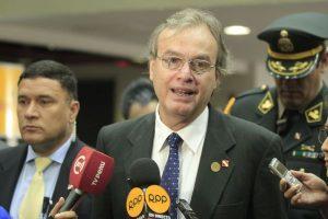 Carlos Basombrío: PPK aceptó su renuncia como Ministro del Interior