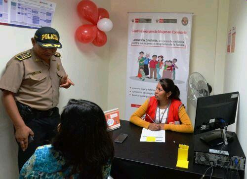 Existen 282 Centros Emergencia Mujer para casos de violencia