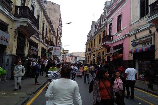 Lima: 20% de galerías no cuenta con medidas contra incendios