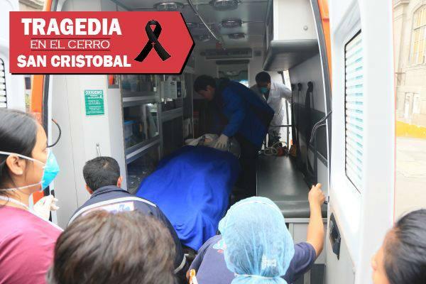 Cerro San Cristóbal: aumenta a 10 los muertos de accidente