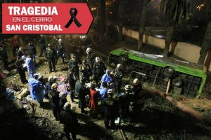 Cerro San Cristóbal: Ladrones aprovecharon para robar a víctimas