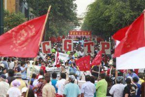 CGTP pedirá reunirse con Martín Vizcarra para plantear agenda laboral