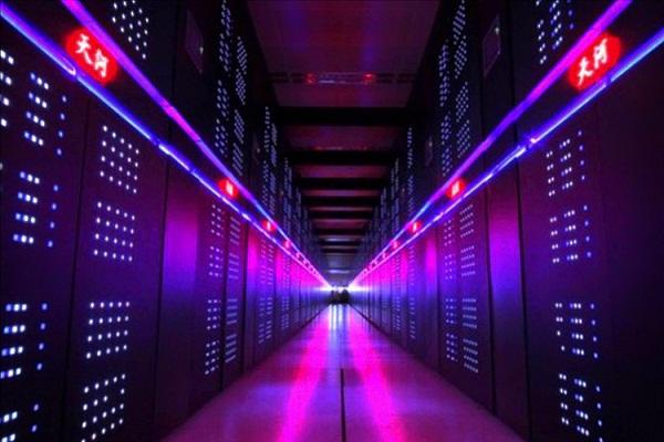 China construye una supercomputadora