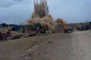 Cieneguilla: Detonación de cerro dejó varios heridos