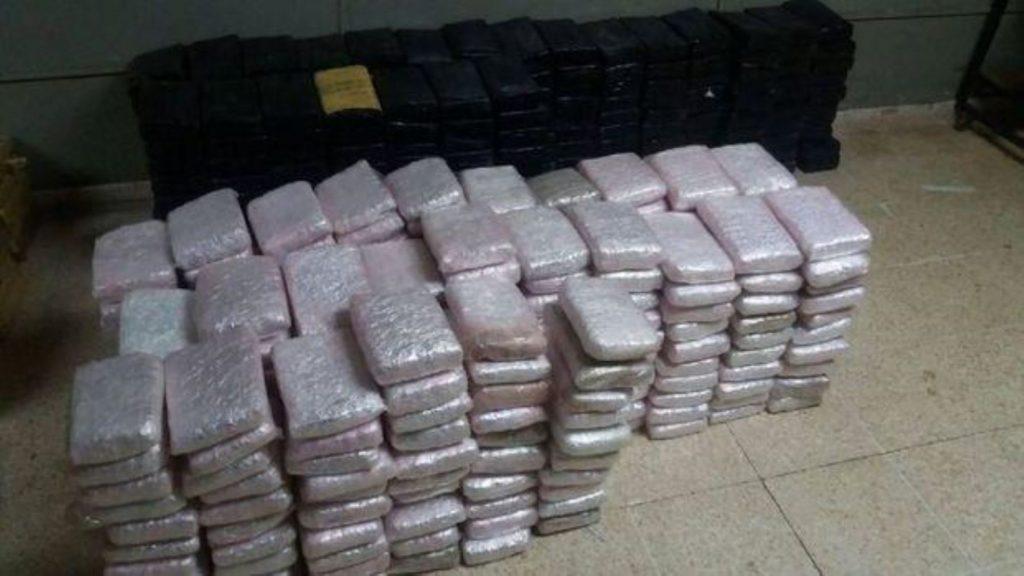 Hallan 220 kilos de cocaína en bus Ormeño