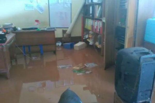 San Martín: Suspenden las clases escolares por inundaciones en Picota