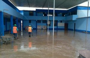 Amazonas: Colegios afectados por inundación reiniciaron clases