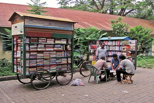 Bibliotecas Móviles para cambiar violencia por cultura