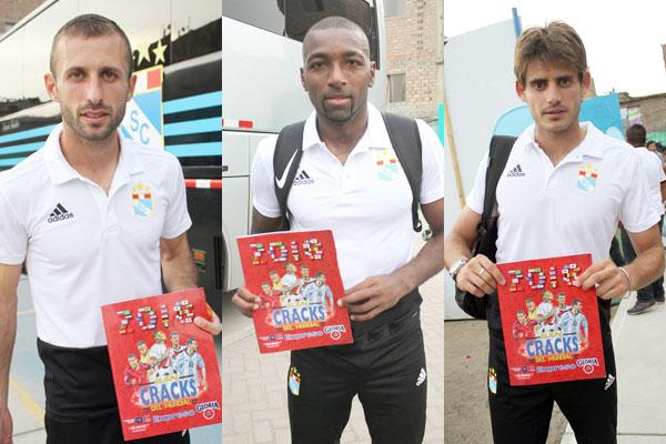 """Futbolistas de Cristal y UTC coleccionarán """"Cracks del Mundial"""""""
