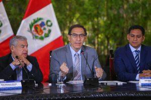 Martín Vizcarra: Crisis política ya fue superada