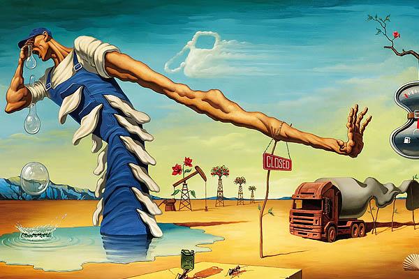 """Presentan exposición """"Dalí frente a Miró"""""""
