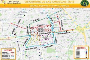 Cumbre de las Américas: Conoce el plan de desvío en San Borja