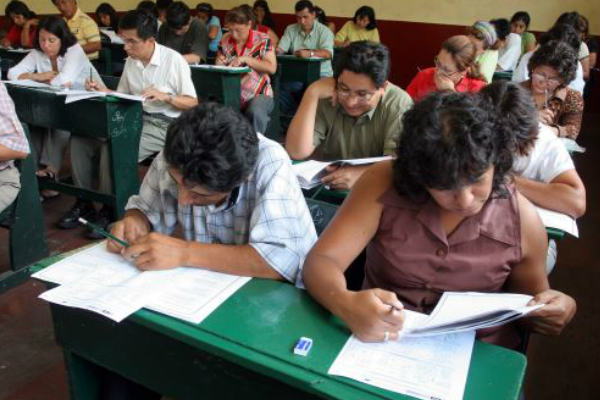 Minedu: buscan reducir la dificultad en pruebas a docentes