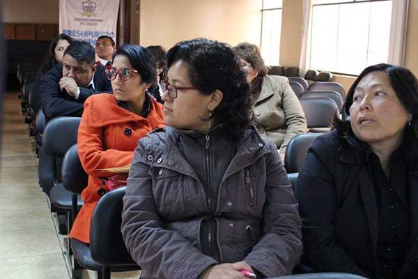 Callao: Drec y Diresa realizan taller para docentes