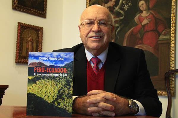 Eduardo Ferrero Costa: Interferencia política casi arruina proceso de paz con Ecuador
